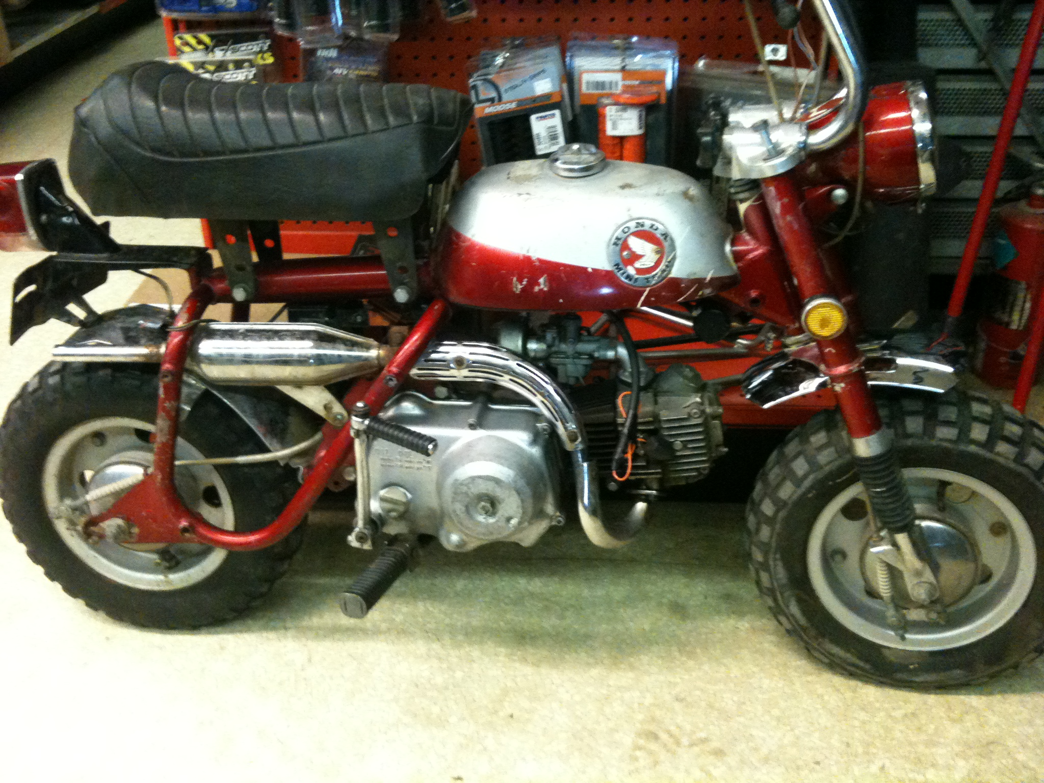 1971 HONDA Z50 BEFORE