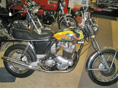 NORTON COMANDO BEFORE