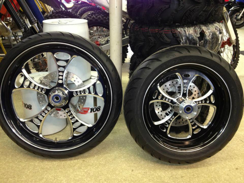 WE DO CUSTOM WHEELS