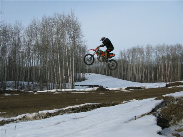 WINTER RIDING AT DEVILS
